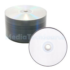 100 Pack White Inkjet Printable 16X Blank DVD-R DVDR Video Disc FREE Shipping!