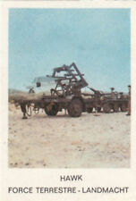 Hawk Surface-to-air Missile USA US ARMY ARMÉE CARD IMAGE MATCHBOX LABEL 60s
