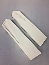 2 WHITE Side Panels for Mad Catz Arcade FightStick Tournament Edition 2 TE2 TE2+