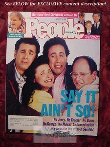 PEOPLE January 12 1998 JERRY SEINFELD CHRIS FARLEY WOODY ALLEN OLIVIA WILLIAMS