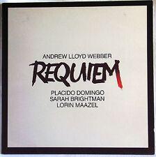 ANDREW LLOYD WEBBER REQUIEM DOMINGO MAAZEL LP EMI