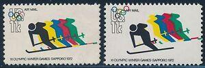 """#C85 VAR. """"OLYMPIC SKIER"""" MAJOR COLOR SHIFT ERROR BR2177"""