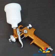Mini HVLP Lackierpistole Spritzpistole 0,8 Düse jet gold smart & spot repair