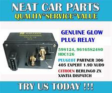 GLOW PLUG RELAY FOR PEUGEOT 306 405 EXPERT BOXER PARTNER 1.7D 1.9D 598124