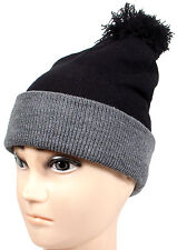Winter Warm Men Womens Beanie Cable Knit  POM POM Crochet Beanie hat Many Colors