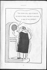 Cup of Hot BOVRIL (Weighing Machine). Original 1947 ADVERTISEMENT. Free UK Post