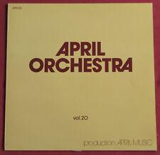 DIDIER LUSTIG  MICHEL MAGNE LP ORIG  FR  APRIL  ORCHESTRA  20 LIBRARY