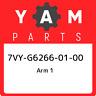 7VY-G6266-01-00 Yamaha Arm 1 7VYG62660100, New Genuine OEM Part
