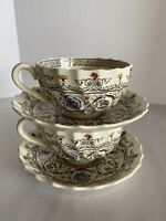 Copeland Spode Florence Coffee Cup and Saucer (9 Available)