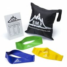 Black Mountain Products BMP Therapy Stretch Resistance Loop Bands Set of 3
