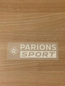 Flocage Sponsor officiel PARIONS SPORT L1 OM away third 2021/2022 vendeur pro