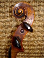 Vielgespielte vieja violín 4/4 o. carteles buen estado + arcilla inmediatamente listo juego