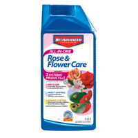 BioAdvanced All-In-One Rose & Flower Care, Concentrate, 32-Ounce - (701260B)