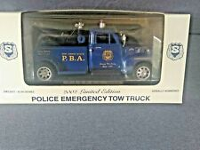 VINTAGE STATE OF NEW JERSEY PBA POLICE EMERGENCY DIE CAST 1953 CHEVY TOW TRUCK
