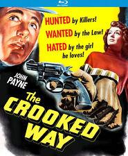 THE CROOKED WAY (JOHN PAYNE) - BLU RAY - Region A - Sealed