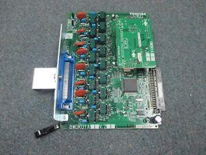 Toshiba Strata CIX 100 BWDKU1A V2 W/ SWDR1A 16 Port Digital Station Expansion