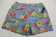 Polo Ralph Lauren Mens Swim Trunks Briefs Shorts Blue Floral 2XB NWT