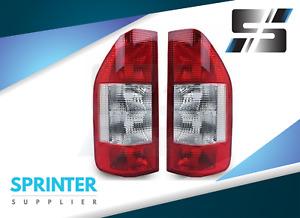 TAIL LIGHT [EURO] Pair for Mercedes Sprinter 2000 - 2006 Dodge Sprinter