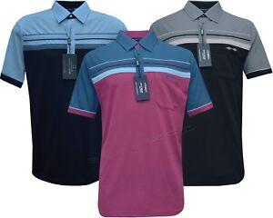New Mens Short Sleeve Golf Polo Shirt T- shirt Top Casual M - 6XL by Tom Hagan