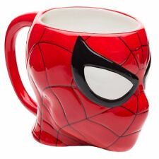 Spider-Man Sculpted Ceramic Coffee Mug Marvel Comics Officially Licensed