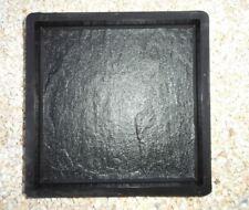 5 Moules pour fabrication dalle de terrasse imitation pierre 25 x 25 cm