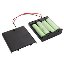 4pcs New 1.2V Ni-MH AA Rechargeable Battery + free Battery Box Case USA