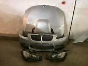 BMW E90 E92 E93 M3 3 SERIES COMPLETE FRONT END SILVERSTONE NO RADS WINGS LIGHTS