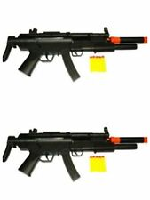 Set Of 2-MP5 Rifle Dart Machine Gun With Sound and Light (Better Than Nerf)