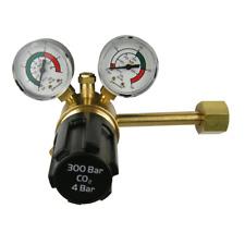 Una sola etapa 2 calibre Co2 Mig Soldadura Regulador Para Botellas De Gas pub entrada lateral