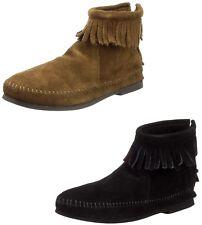 Minnetonka Women's Back Zip Hardsole Boot