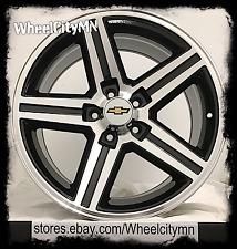 "16 x8"" black Chevrolet Camaro IROC Z28 OE GM replica wheels S10 Monte SS 5x4.75"