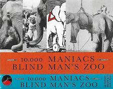 10,000 MANIACS BLIND MAN'S ZOO CASSETTE 1989 album ELEKTRA folk rock
