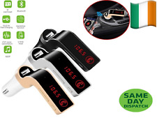 G7 Bluetooth Car Kit FM Transmitter USB Charger Adapter MP3 Player mix colour