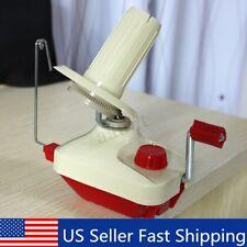 Hand Operated Swift Yarn Fiber Wool String Roll Ball Thread Skein Winder Machine