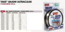 Lineaeffe Take FF Akashi UltraClear 0 60mm 100m 34kg 3042260 Fluorocarbon