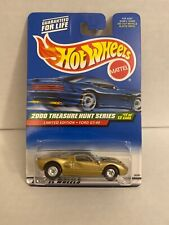 HOT WHEELS 2000 TREASURE HUNT FORD GT-40 WITH REAL RIDERS RR