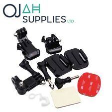 Grab Bag of Mounts Kit For GoPro Hero 2 3 3+ 4 Go Pro HD Camera Accessories OJAH