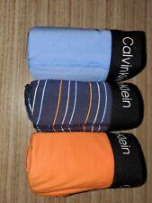 Calvin Klein Cotton Stretch 3 pack Boxer Brief NP21680-941 Orange / Blue / Navy
