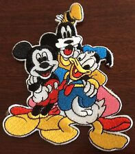 Larger DISNEY GANG  Iron On Patch Buy 2 We Send 3 Of These