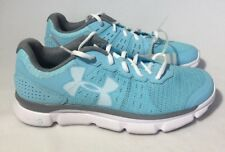 UNDER ARMOUR SPEED SWIFT Shoes Athletic Sneakers Size 8.5M Sky Blue UA NEW