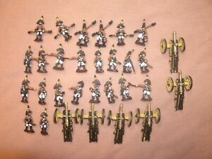 15mm Painted Austrian Napoleonic Artillery. Old Glory