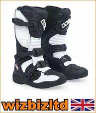 W2 MX ENDURO BOOTS MX-KID WHITE SIZE UK 6 / EUR 38 W244014638
