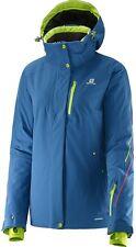 Salomon Brilliant Damen Ski/Snowboard-Jacke, M, Dolomite blau