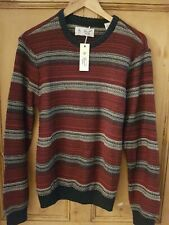 PENGUIN DARK SAPPHIRE CHUNKY KNIT JUMPER SIZE M RRP £59 ONLY £24.99 OPGF7010