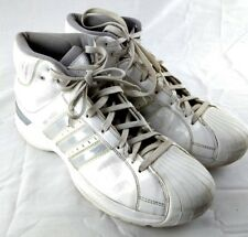 Adidas Pro Model 376768 Mens Size 12 White High Top Sneaker Shoes 183-11 257a61c27