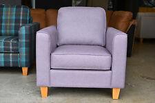 Portia Armchair in Shetland Soft Feel Purple Lilac Band C RRP £499 New Warranty