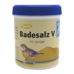 Backs Badesalz V für Ziervögel - 300g - Badezusatz für Ziervögel
