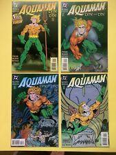 Aquaman: Time And Tide 1-4 Comic Book Lot / Dc Comics 1993-1994