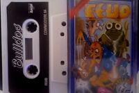 FEUD (Bulldog) Commodore C64 Kassette (Tape, Box, Manual) 100 % ok