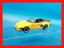 1/43 1:43 PORSCHE 911 TURBO CABRIO SLANT NOSE colore giallo